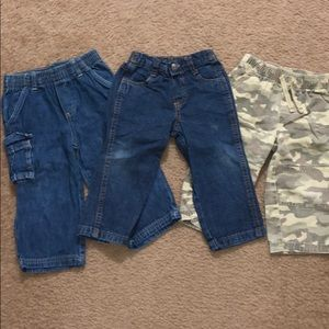 Pants 18 month variety brands lot of 3